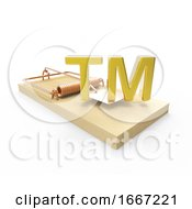 3d Mousetrap With Trademark Bait