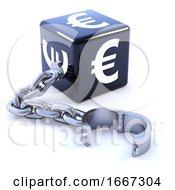 3d Black Euro Leg Iron