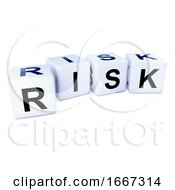 Poster, Art Print Of 3d Risk Dice