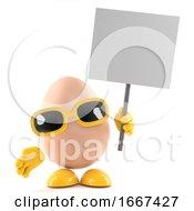 Poster, Art Print Of Protest Egg