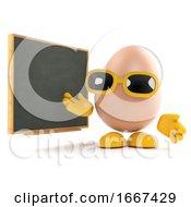 Poster, Art Print Of 3d Egg Teaches Nutrition