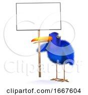 3d Bluebird Protester