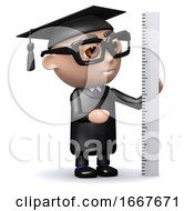 3d Graduate Measures With A Ruler
