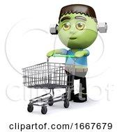 3d Frankenstein Shopper