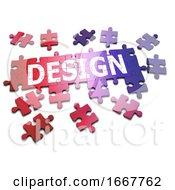Poster, Art Print Of 3d Design Jigsaw