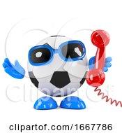 3d Football On The Phone