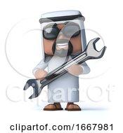 3d Arab Mechanic