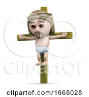 3d Jesus On The Cross