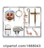 3d Plastic Jesus Construction Kit