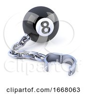 3d Chained 8 Ball