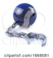 3d Chained Bowling Ball