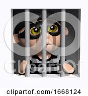3d Burglar Behind Bars