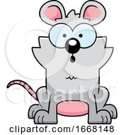 Cartoon Surprised Mouse