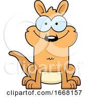 Cartoon Happy Kangaroo