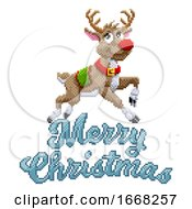 09/10/2019 - Santa Claus Reindeer Merry Christmas Pixel Art