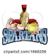 09/10/2019 - Spartan Trojan Tennis Sports Mascot