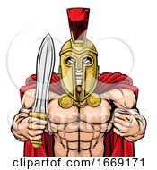 09/14/2019 - Spartan Trojan Sports Mascot