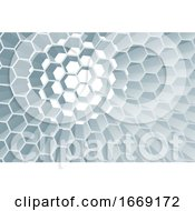 09/14/2019 - Hexagon Honeycomb Abstract Geometric Background