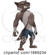 Poster, Art Print Of Werewolf
