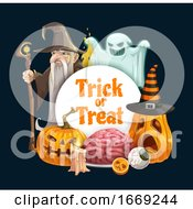 Trick Or Treat Design by Vector Tradition SM
