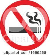 Poster, Art Print Of No Smoking Sign