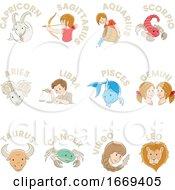 Horoscope Zodiac Symbols