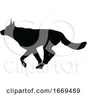 09/16/2019 - Dog Silhouette Pet Animal