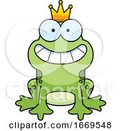 Cartoon Prince Frog