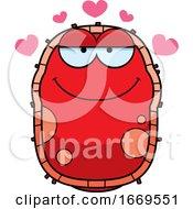 Cartoon Loving Red Cell Germ