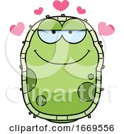 Cartoon Loving Green Cell Germ