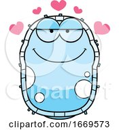 Cartoon Loving Blue Cell Germ