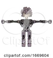Automaton Containing Bird Skull Head And White Eyeballs And Bird Feather Design And Heavy Upper Chest And No Chest Plating And Prototype Exoplate Legs Dark Sketch T Pose