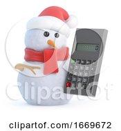 3d Snowman Using A Calculator