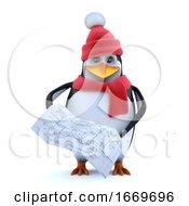 3d Winter Penguin Studies The Plan