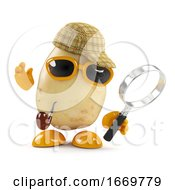 3d Sherlock Potato