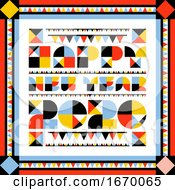 Elegant Abstract Numbers 2020 And Happy New Year Greetings With Multicolored Flags And Garlands Wonderful Vector Illustration For Greeting Card Holiday Calendar Book Or Brochure
