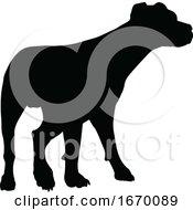 09/22/2019 - Dog Silhouette Pet Animal
