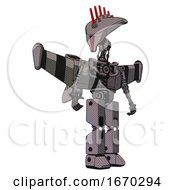 Bot Containing Flat Elongated Skull Head And Light Chest Exoshielding And Stellar Jet Wing Rocket Pack And No Chest Plating And Prototype Exoplate Legs Halftone Gray Hero Pose