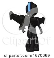 Cyborg Containing Round Head And Large Vertical Visor And Light Chest Exoshielding And Ultralight Chest Exosuit And Stellar Jet Wing Rocket Pack And Light Leg Exoshielding And Stomper Foot Mod