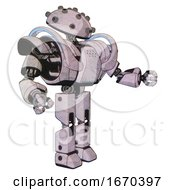 Robot Containing Plughead Dome Design And Heavy Upper Chest And Heavy Mech Chest And Battle Mech Chest And Prototype Exoplate Legs Sketch Pad Dots Pattern Interacting