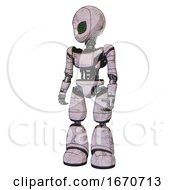 Cyborg Containing Grey Alien Style Head And Led Array Eyes And Light Chest Exoshielding And Ultralight Chest Exosuit And Light Leg Exoshielding Sketch Pad Standing Looking Right Restful Pose