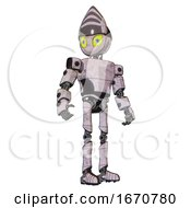 Bot Containing Grey Alien Style Head And Yellow Eyes With Blue Pupils And Light Chest Exoshielding And Prototype Exoplate Chest And Ultralight Foot Exosuit Sketch Pad Hero Pose