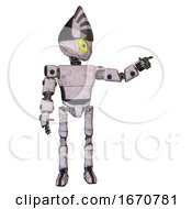 Bot Containing Grey Alien Style Head And Yellow Eyes With Blue Pupils And Light Chest Exoshielding And Prototype Exoplate Chest And Ultralight Foot Exosuit Sketch Pad