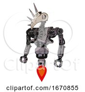 Bot Containing Bird Skull Head And White Eyeballs And Heavy Upper Chest And No Chest Plating And Jet Propulsion Dark Dirty Scrawl Sketch Standing Looking Right Restful Pose