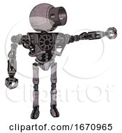 Cyborg Containing Cable Connector Head And Heavy Upper Chest And No Chest Plating And Ultralight Foot Exosuit Dark Dirty Scrawl Sketch Pointing Left Or Pushing A Button