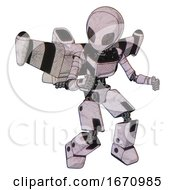 Droid Containing Grey Alien Style Head And Metal Grate Eyes And Light Chest Exoshielding And Ultralight Chest Exosuit And Stellar Jet Wing Rocket Pack And Prototype Exoplate Legs Sketch Pad Light