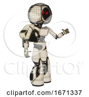 Android Containing Round Barbed Wire Round Head And Light Chest Exoshielding And Ultralight Chest Exosuit And Rocket Pack And Light Leg Exoshielding And Stomper Foot Mod Off White Toon Interacting