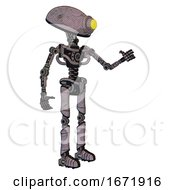 Mech Containing Yellow Cyclops Dome Head And Light Chest Exoshielding And No Chest Plating And Ultralight Foot Exosuit Sketch Fast Lines Interacting