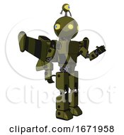 Robot Containing Oval Wide Head And Yellow Eyes And Minibot Ornament And Light Chest Exoshielding And Prototype Exoplate Chest And Stellar Jet Wing Rocket Pack And Prototype Exoplate Legs