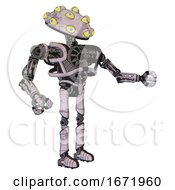 Robot Containing Many Eyed Monster Head Design And Heavy Upper Chest And No Chest Plating And Ultralight Foot Exosuit Sketch Pad Dirty Smudge Interacting